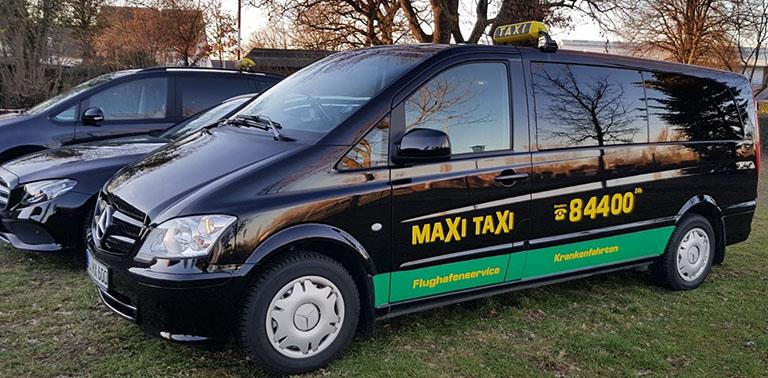 Maxi Taxi Elmshorn Grossraumtaxi Flughafen Fahrt